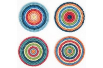 Rico - Circular Coasters - Set of 4 (Tapestry Kit)