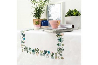 Rico - Cacti Tablecloth (Cross Stitch Kit)