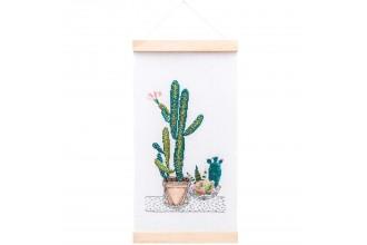 Rico - Cacti Wall Hanging (Cross Stitch Kit)