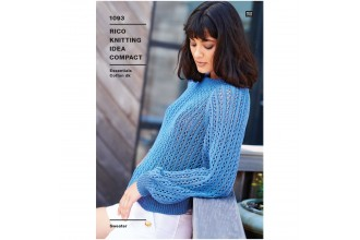 Rico Knitting Idea Compact 1093 (Leaflet) Sweater in Essentials Cotton DK