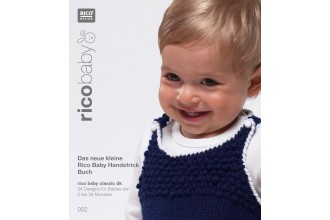 Rico Baby Knitting 002 (Booklet) Baby Classic DK