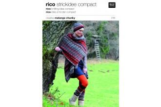 Rico Knitting Idea Compact 016 (Leaflet) Creative Melange Chunky