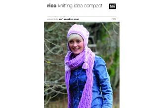 Rico Knitting Idea Compact 029 (Leaflet) Essentials Soft Merino Aran