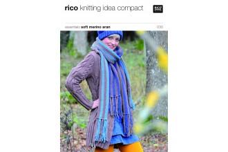 Rico Knitting Idea Compact 030 (Leaflet) Essentials Soft Merino Aran
