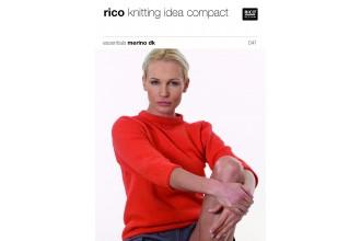Rico Knitting Idea Compact 041 (Leaflet) Essentials Merino DK