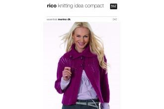 Rico Knitting Idea Compact 042 (Leaflet) Essentials Merino DK