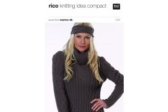 Rico Knitting Idea Compact 043 (Leaflet) Essentials Merino DK