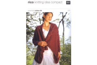 Rico Knitting Idea Compact 073 (Leaflet) Essentials Cotton DK