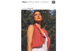 Rico Knitting Idea Compact 078 (Leaflet) Essentials Cotton DK