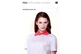 Rico Knitting Idea Compact 180 (Leaflet) Essentials Merino (DK) Various Collars