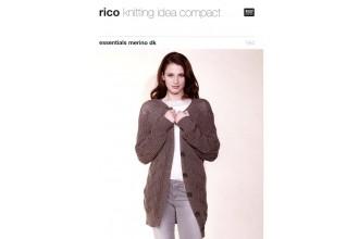 Rico Knitting Idea Compact 184 (Leaflet) Essentials Merino (DK) Jackets