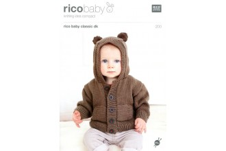 Rico Knitting Idea Compact 200 (Leaflet) Rico Baby Classic (DK) Baby Hoodies
