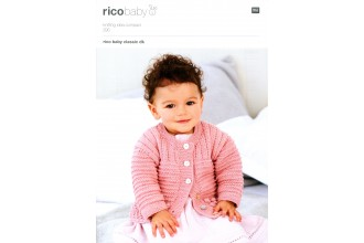 Rico Knitting Idea Compact 295  (Leaflet) Baby Classic Textured Cardigans (DK)