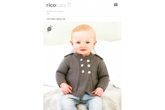 Rico Knitting Idea Compact 298  (Leaflet) Baby Classic Cardigans (DK)