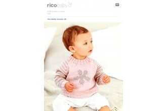 Rico Knitting Idea Compact 299  (Leaflet) Baby Classic Sweater (DK)