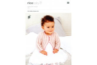Rico Knitting Idea Compact 300  (Leaflet) Baby Classic Cardigans (DK)