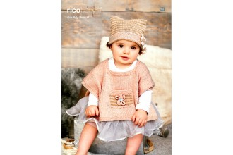 Rico Knitting Idea Compact 462  (Leaflet) Baby Classic Ponchos and Hats (DK)