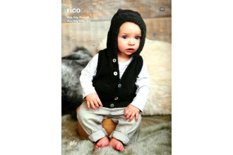 Rico Knitting Idea Compact 463  (Leaflet) Baby Classic and Baby Teddy Jacket and Gilet (DK, Aran)