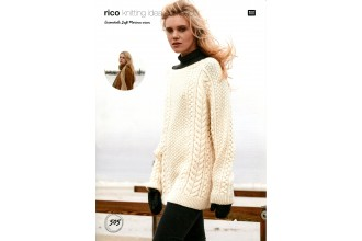 Rico Knitting Idea Compact 505  (Leaflet) Essentials Soft Merino Sweater and Scarf (Aran)