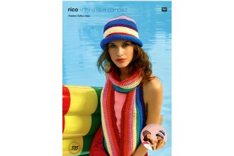 Rico Knitting Idea Compact 535 (Leaflet) Scarf and Hats in Creative Cotton  (Aran)