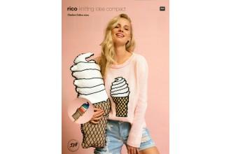 Rico Knitting Idea Compact 538 (Leaflet) Crochet Ice Cream Cushions in Creative Cotton  (Aran)