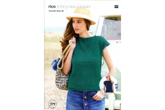 Rico Knitting Idea Compact 573 (Leaflet) Top in Essentials Cotton (DK)