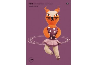 Rico Knitting Idea Compact 587 (Leaflet) Fox with Dress in Essentials Merino DK