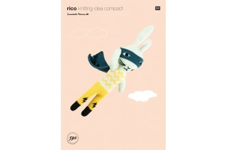 Rico Knitting Idea Compact 590 (Leaflet) Hare in Essentials Merino DK