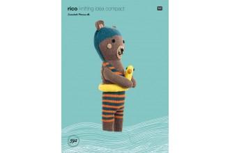 Rico Knitting Idea Compact 592 (Leaflet) Bear in Essentials Merino DK