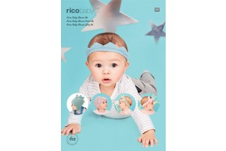 Rico Knitting Idea Compact 612 (Leaflet) Hats and Headbands in Baby Classic DK
