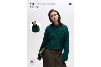 Rico Knitting Idea Compact 681 (Leaflet) Sweater and Scarf in Essentials Merino DK & Essentials Soft Merino Aran