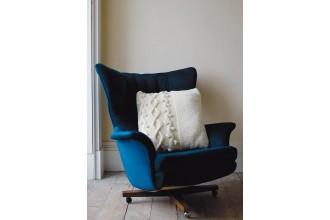 Rowan - Rowan At Home - Ric-Rac Cushion by Martin Storey in Big Wool (downloadable PDF)