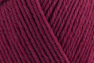 Rowan Pure Wool Superwash Worsted - Rich Red (124) - 100g
