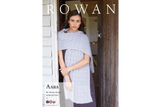 Rowan - Aara Shawl in Kidsilk Haze, Fine Lace (downloadable PDF)