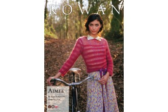 Rowan - Aimee Sweater in Kidsilk Haze (downloadable PDF)