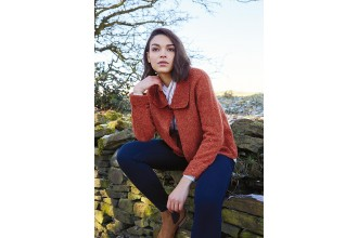 Rowan - Around Holme - Airton Jacket in Valley Tweed (downloadable PDF)