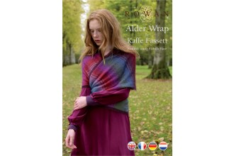 Rowan - Alder Wrap in Kidsilk Haze (downloadable PDF)
