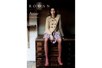 Rowan - Anise Cardigan in Rowan Big Wool (downloadable PDF)