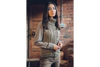 Rowan - Loves 5 - Ansonia Sweater in Kid Classic or Hemp Tweed (downloadable PDF)