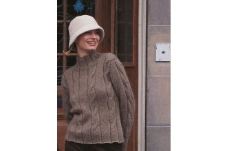 Rowan - A Seasons Tale - Heather Cardigan and Sweater by Kim Hargreaves in Kid Classic (downloadable PDF)