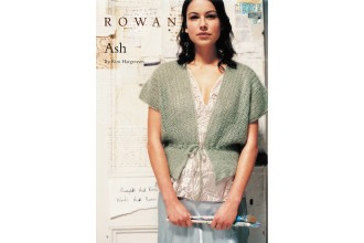 Rowan - Ash Cardigan in Kidsilk Haze (downloadable PDF)