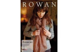 Rowan - Ashbury Scarf in Kidsilk Haze Vintage (downloadable PDF)