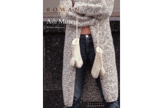 Rowan - Ash Mittens in Rowan Big Wool (downloadable PDF)