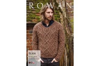 Rowan - Autumn Knits - Ilam Sweater by Marie Wallin in Cocoon (downloadable PDF)