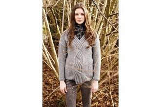 Rowan - Autumn Knits - Tissington Sweater by Marie Wallin in Cocoon (downloadable PDF)
