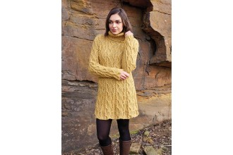 Rowan - Around Holme - Bell Jumper Dress in Felted Tweed (downloadable PDF)