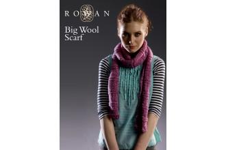 Rowan - Big Wool Scarf  in Rowan Big Wool (downloadable PDF)
