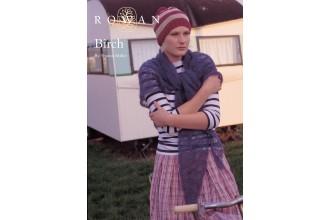 Rowan - Birch Wrap in Rowan Kidsilk Haze (downloadable PDF)
