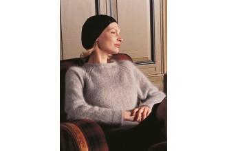 Rowan -  Bonny Sweater by Kim Hargreaves in Kidsilk Haze (downloadable PDF)