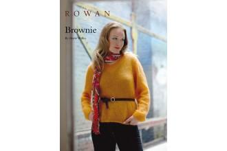 Rowan - Brownie Jumper in Kidsilk Haze (downloadable PDF)
